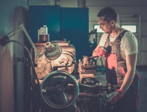 Lathe Machine - Mechanical Internship