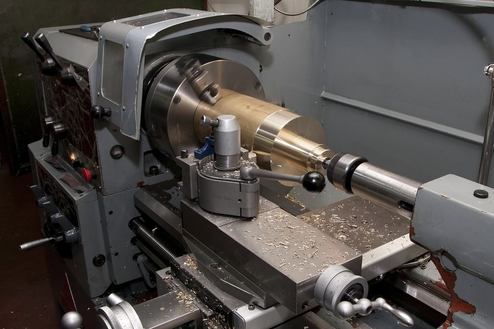 Lathe Machine - Mechanical Internship Chennai