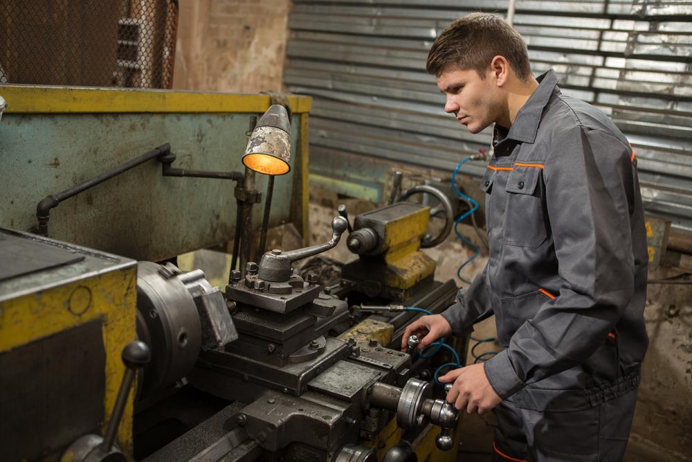 Lathe Machine - Mechanical Internship Coimbatore